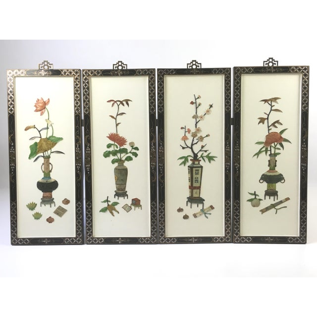 1950's Japanese Sculptural Wall Hangings - 4 - Image 2 of 9