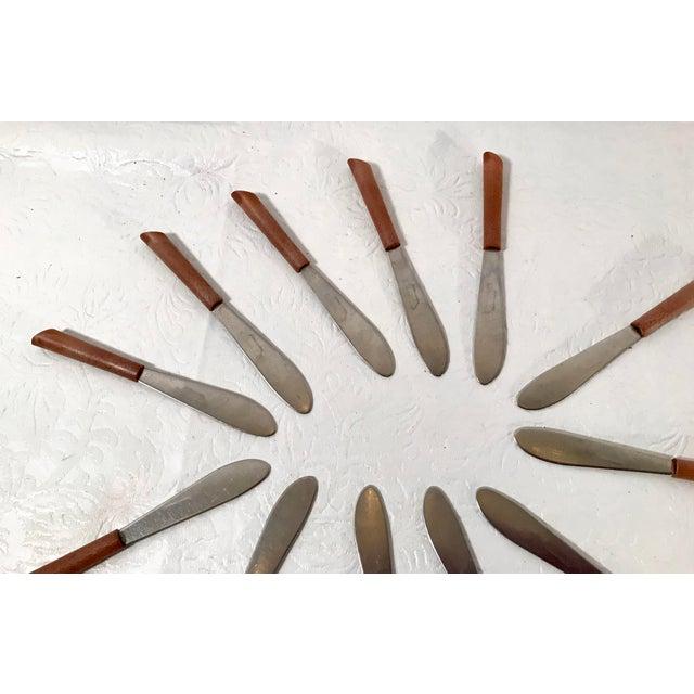 Vintage Mini Spreader Knives - Set of 12 For Sale - Image 4 of 7
