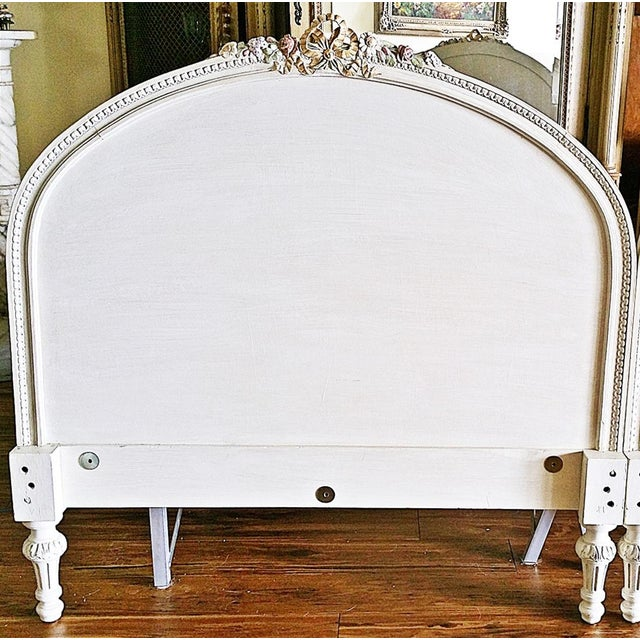 French 1920s Louis XVI Headboards - a Pair For Sale - Image 3 of 8