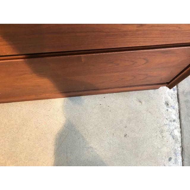 Brown Dillingham Walnut Dresser For Sale - Image 8 of 10