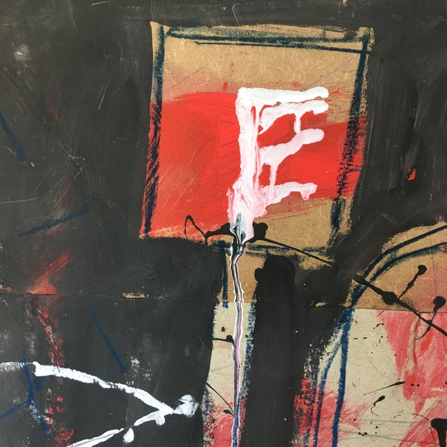 Abstract Painting by Mutaz Elemam For Sale - Image 5 of 11