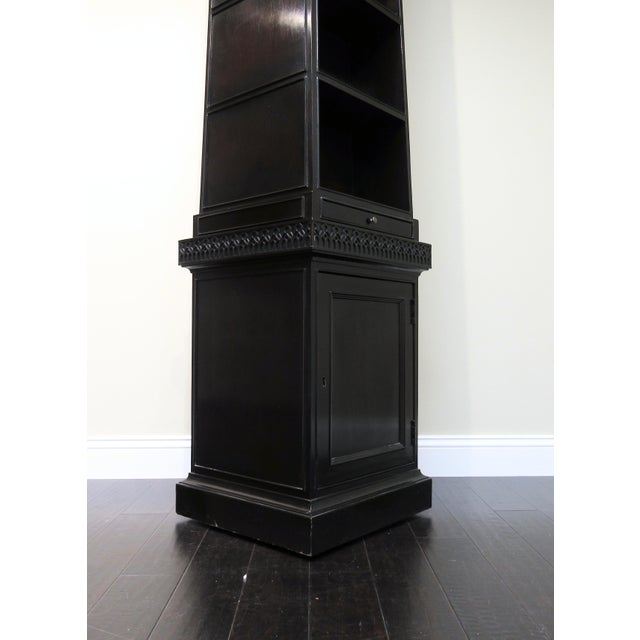 Pyramid Bookcase by Baker For Sale - Image 4 of 6