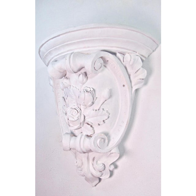 Antique French Plaster Wall Shelves - a Pair For Sale In Los Angeles - Image 6 of 9