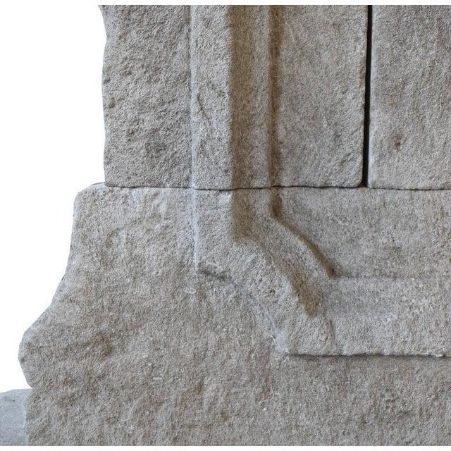 Limestone Wall Fountain - Image 4 of 6