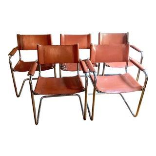 Vintage Mid-Century Loewenstein Oggo Chairs - Set of 5