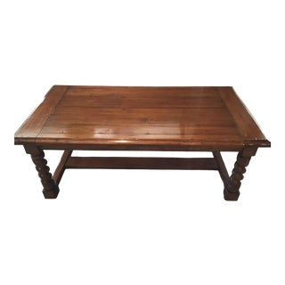 English Country Chaddock Coffee Table For Sale