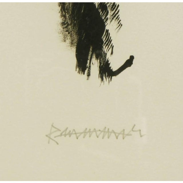 1950s Abraham Rattner (1893-1978) Black and White Limited Edition Print, Signed and Numbered For Sale - Image 5 of 7