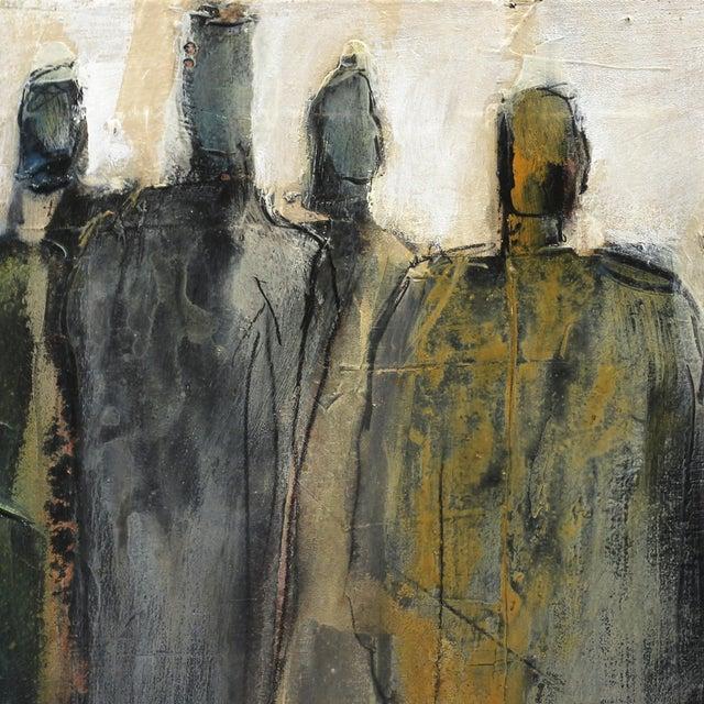 "Abstract Original Artwork, ""9492"" by Edith Konrad For Sale - Image 4 of 9"