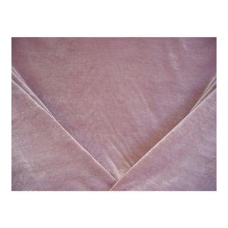 Lee Jofa Gemma Dusk Linen Look Velvet Upholstery Fabric - 4 1/8 Yards For Sale