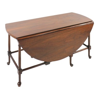 Baker Dropleaf Coffee Table For Sale