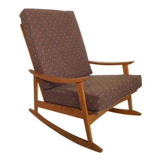 Mid-Century Modern Rocking Chair For Sale