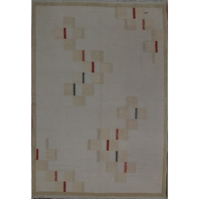 Soumak Design Hand Woven Wool Rug - 8' X 10' - Image 5 of 5