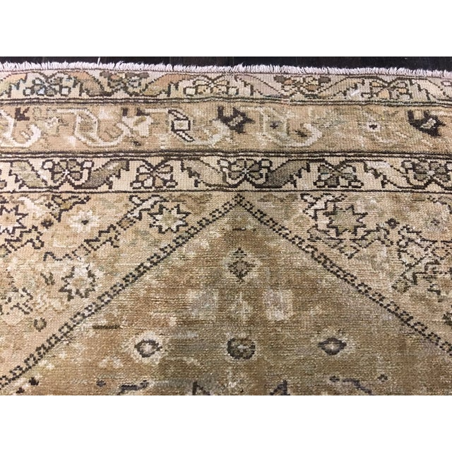 Antique Persian Malayer Runner Rug - 6′7″ × 9′10″ - Image 7 of 9
