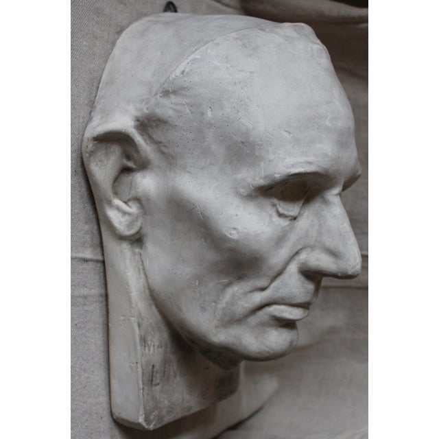 Plaster Abraham Lincoln Head/Mask - Image 2 of 6