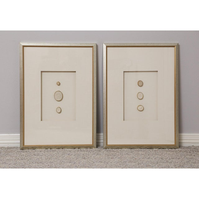 1820 Grand Tour Intaglios, Set of 2 For Sale - Image 9 of 10