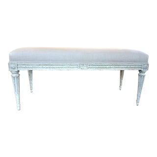 Louis XVI Style Small Bench For Sale
