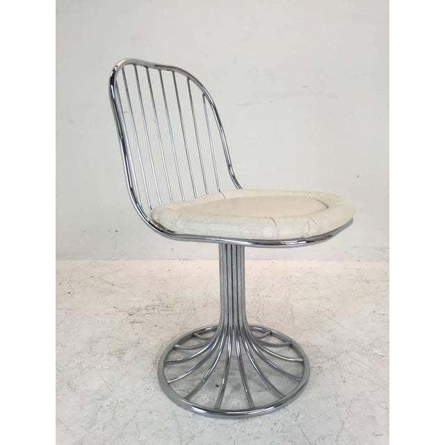 Mid-Century Modern Sculpted Dining Set - Image 2 of 8