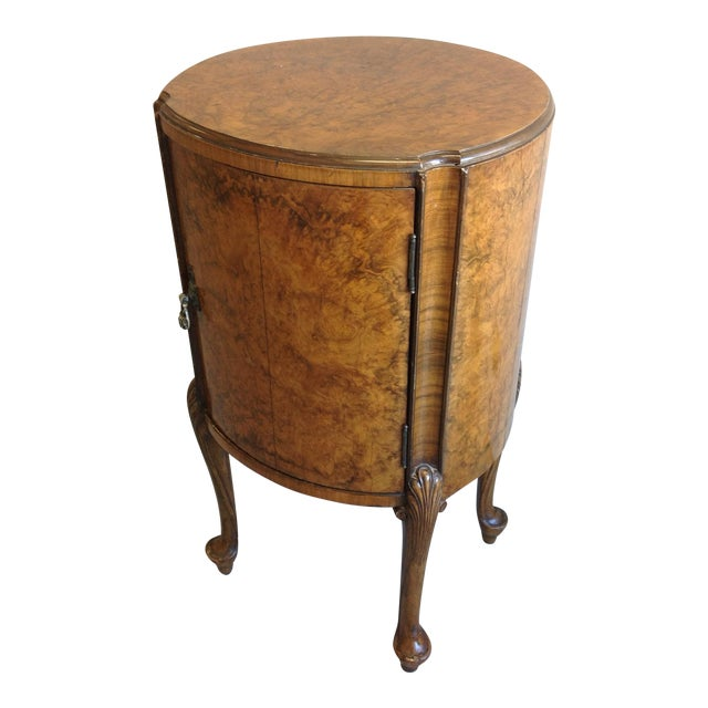 Round French Side Table - Image 1 of 6