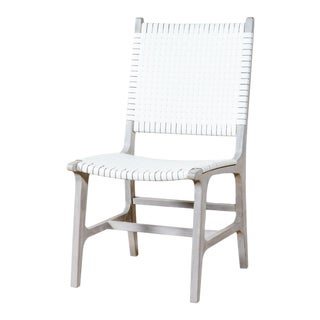 Rawley Side Chair White For Sale