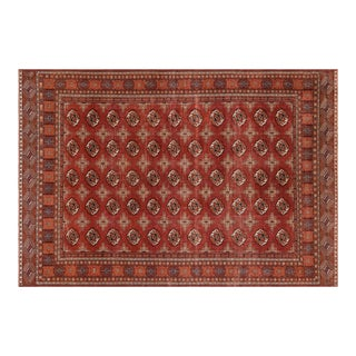 1960s Turkish Anatolian Red Area Rug-8'10'' X 12'10'' For Sale
