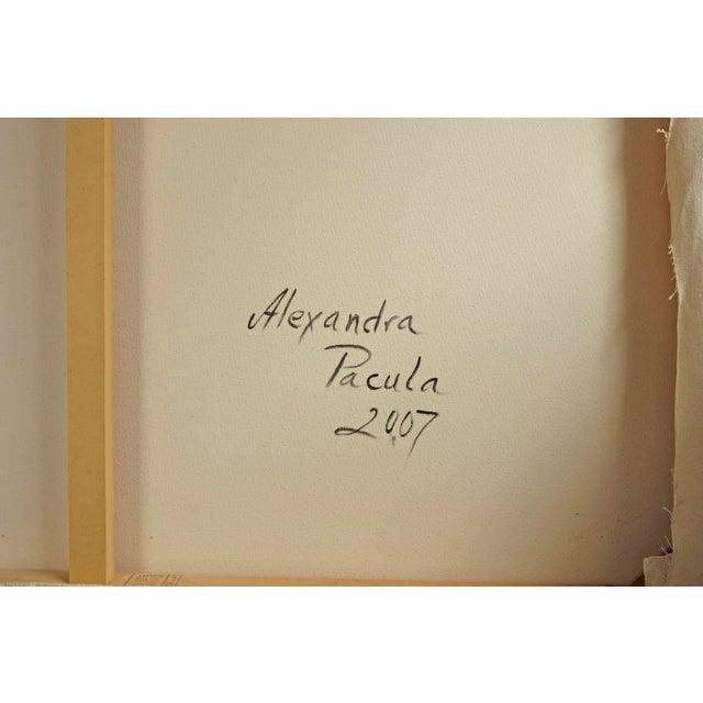 "Alexandra Pacula ""Nighthawks"" Painting - Image 7 of 7"