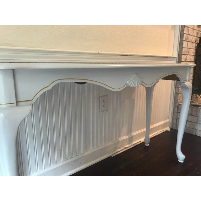 20th Century French Country French Country Console Table For Sale - Image 4 of 6