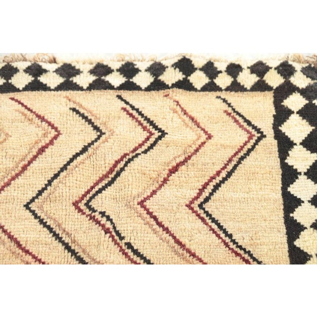 Islamic Late 20th Century Hand-Knotted Persian Gabbeh Rug - 3′2″ × 6′8″ For Sale - Image 3 of 8