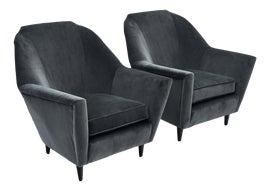 Image of Italian Club Chairs