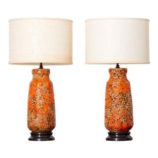 Mid Century Ceramic Lamps For Sale