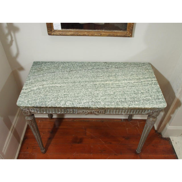 Louis XVI Console Table For Sale - Image 4 of 10