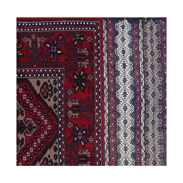 Persian Ghochan Tribal Rug - 3' x 5' For Sale - Image 4 of 6
