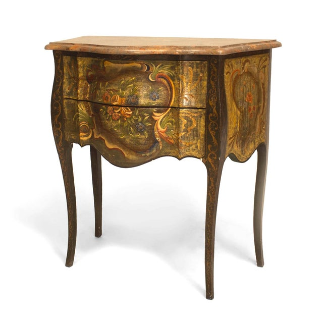 Early 20th Century Italian Venetian '19th-20th Century' Commodes - a Pair For Sale - Image 5 of 6