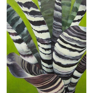 """Laurie Flaherty """"Transit"""" Contemporary Nature-Inspired Oil Painting For Sale"""