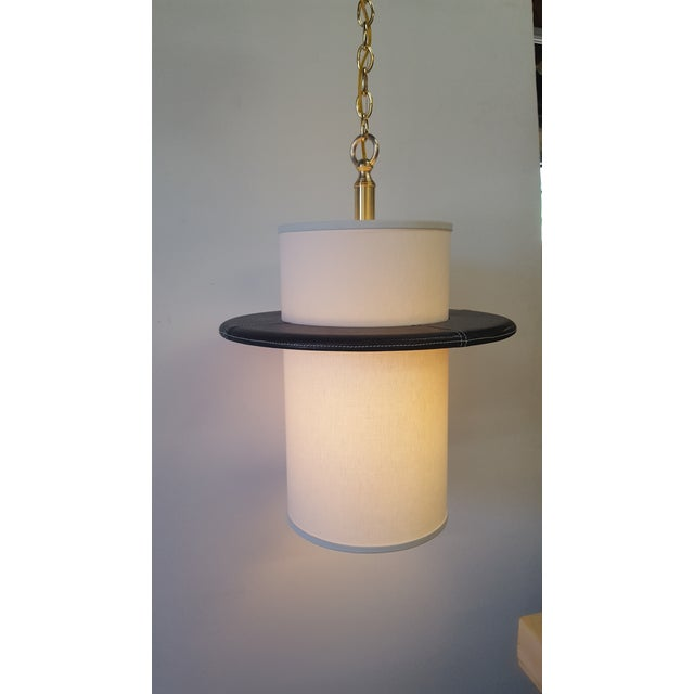 Modern Adnet Inspired Pendant by Paul Marra For Sale - Image 3 of 8