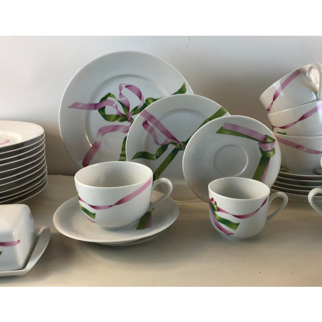 Vintage Jacques Coeur Dinnerware-Set of 49 For Sale In Chicago - Image 6 of 13