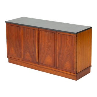 Slate-Top Walnut Sideboard by Jack Cartwright for Founders For Sale