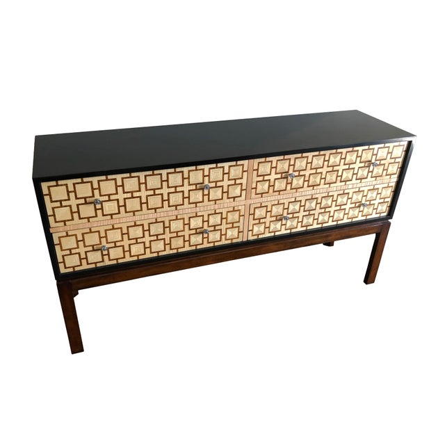 This stunning, versatile piece from Theodore Alexander (design by the Keno Brothers) is a multipurpose chest that can be a...