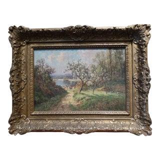 Pierre Ernest Ballue Landscape Painting For Sale