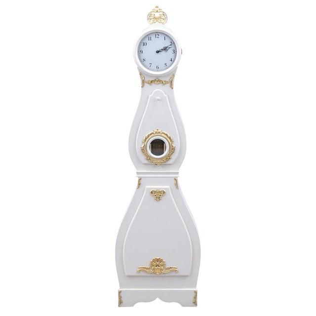 1960s Antique Swedish Mora Clock For Sale - Image 5 of 5