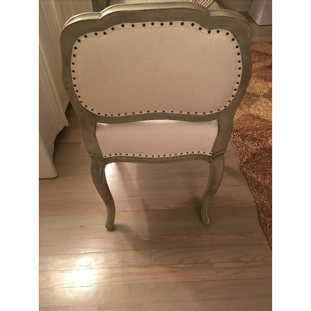 Antique Reupholstered Swedish Chairs - A Pair - Image 4 of 7