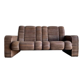 Leather Patchwork Sofa by Ernst Lüthy, Founder of De Sede, Switzerland For Sale
