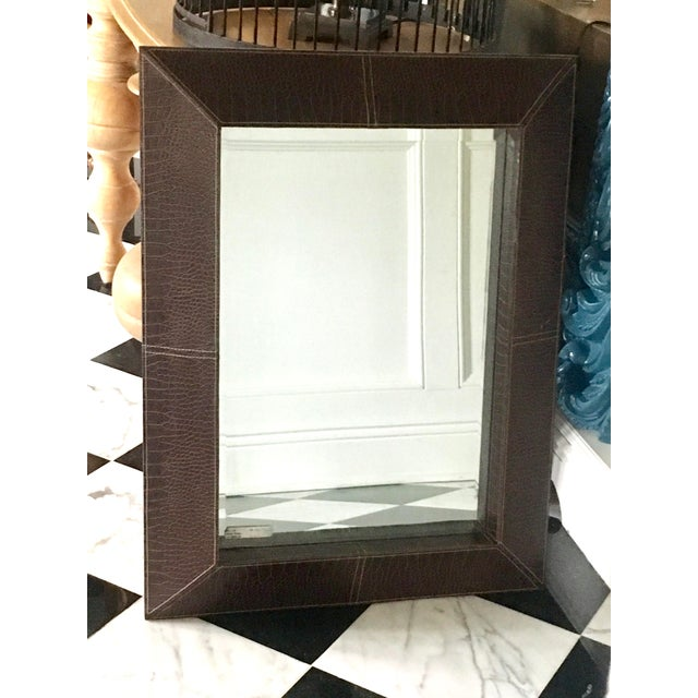 Beveled mirrors are always elegant. It is a small detail that lends a subtle, but definitely upscale element. This one has...