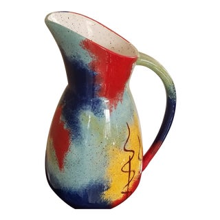 Pfaltzgraff Vintage Southwestern Style Pitcher For Sale