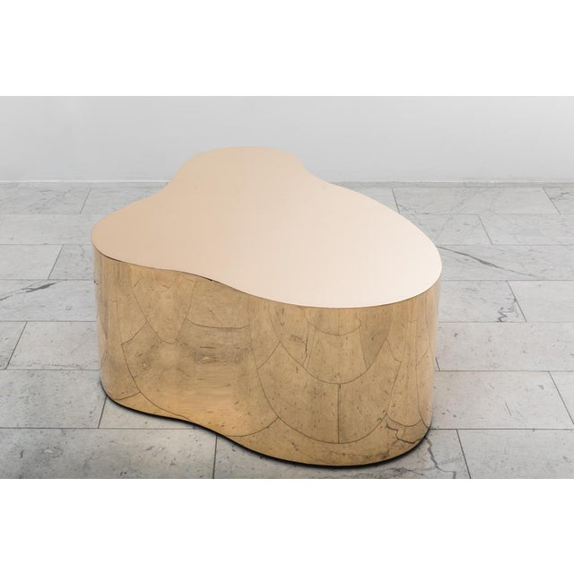 "2010s Karl Springer LTD, Bronze Free Form Low Table ""C"", USA, 2016 For Sale - Image 5 of 13"