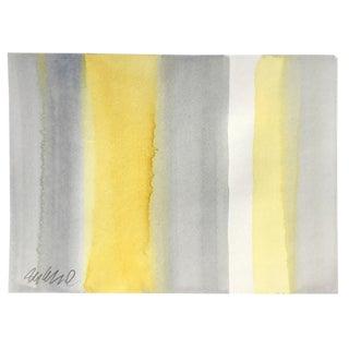 """Beach Towel"" Original Watercolor Painting For Sale"