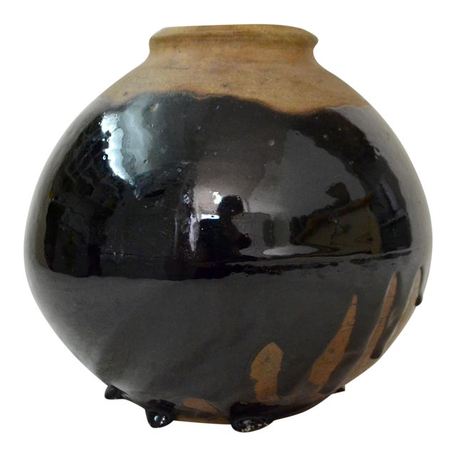 Vintage Hand Thrown Studio Pottery Vase - Image 1 of 11