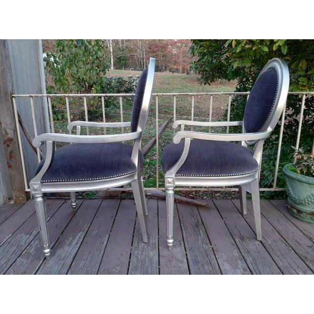Bernhardt Bernhardt Louis Arm Chairs - a Pair For Sale - Image 4 of 13