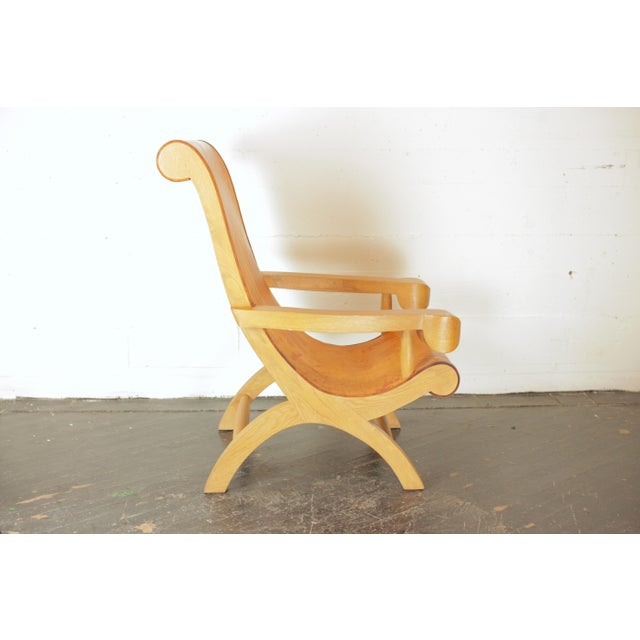 Mexican Clara Porset Butaque Chair For Sale - Image 3 of 13