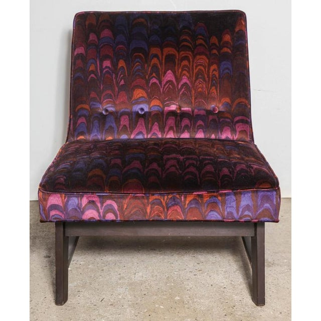 Dunbar Furniture 1950s Vintage Edward Wormley for Dunbar Lounge Chair For Sale - Image 4 of 8