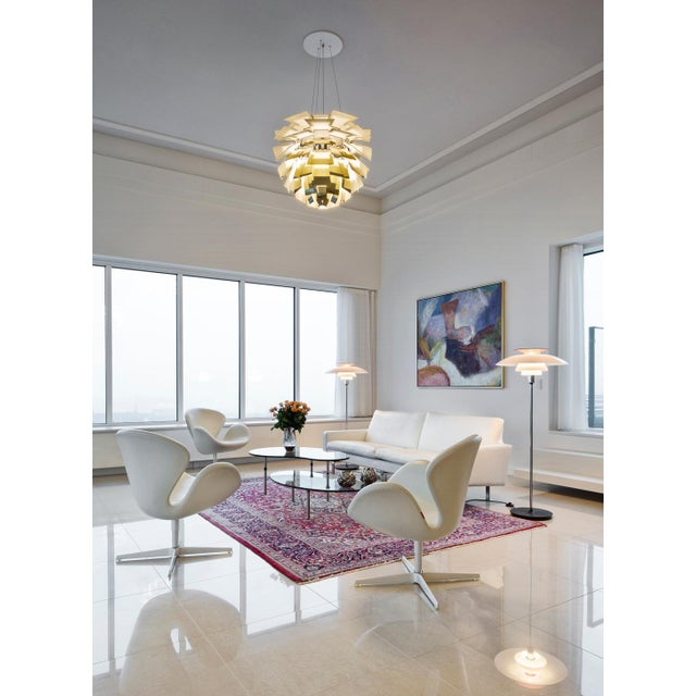 Monumental Poul Henningsen Brass PH Artichoke Chandelier for Louis Poulsen For Sale In Los Angeles - Image 6 of 8